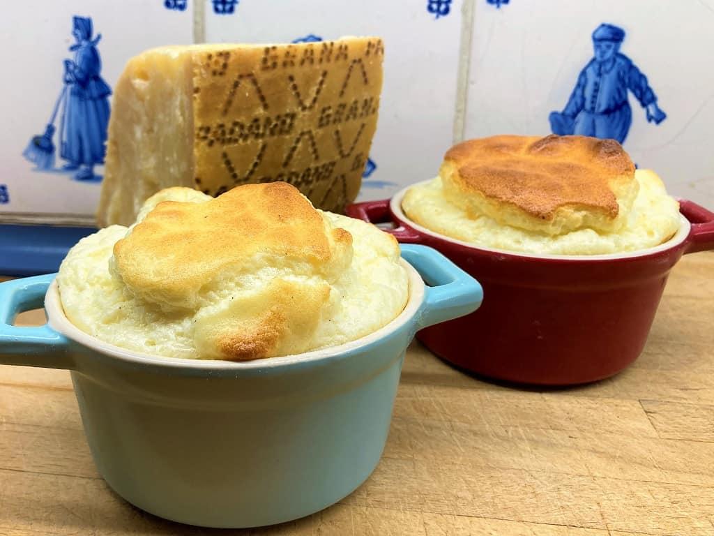 Souffle med Grana Padano ost