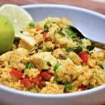 billederesultat for stegte ris med kylling