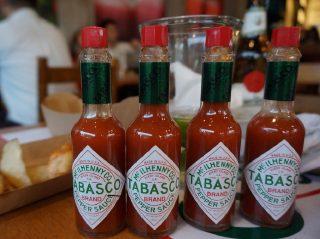 Tabasco flasker