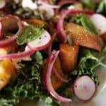 Salat med rodfrugter