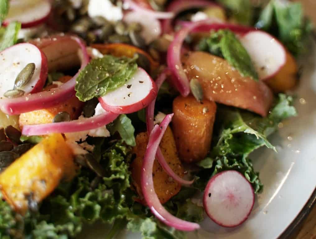 Salat med rodfrugter - vinderen af DM i overskudsmad