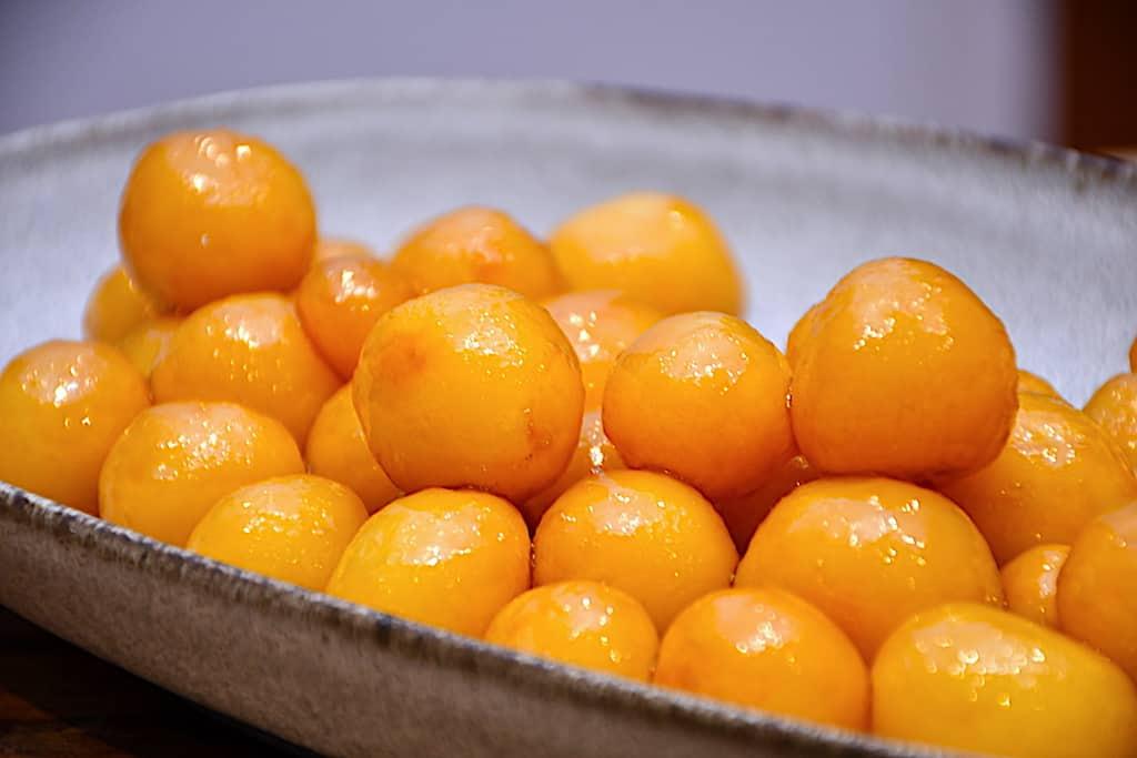 billederesultat for brunede kartofler i airfryer