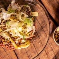 Dampet quinoa med fennikel