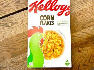 billederesulat for Cornflakes fra Kellogg's