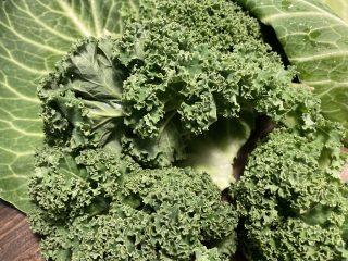 Grønkål fuld af K-vitamin