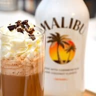 Hot choco med Malibu og Cocio
