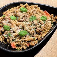 Nem vegetarret med pasta