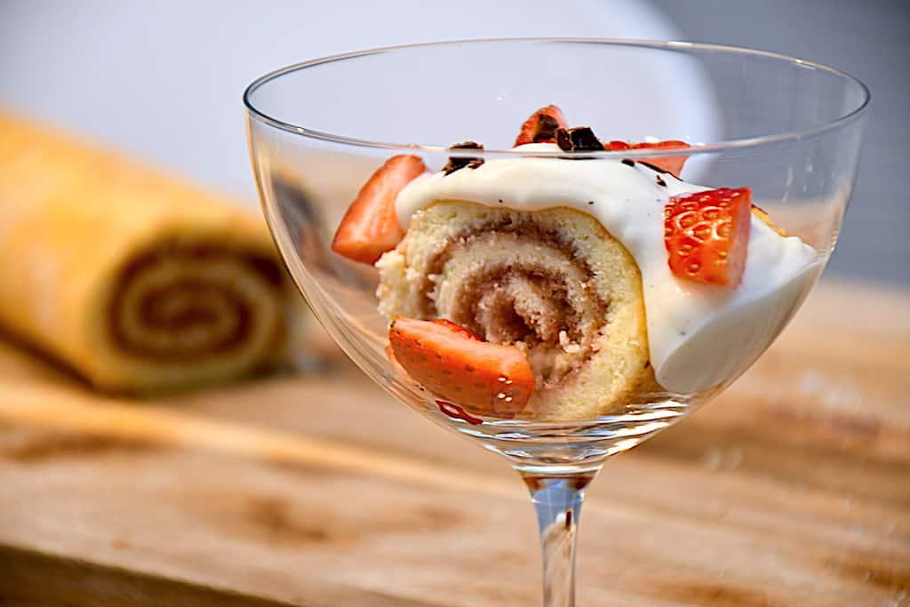 billederesultat for roulade dessert