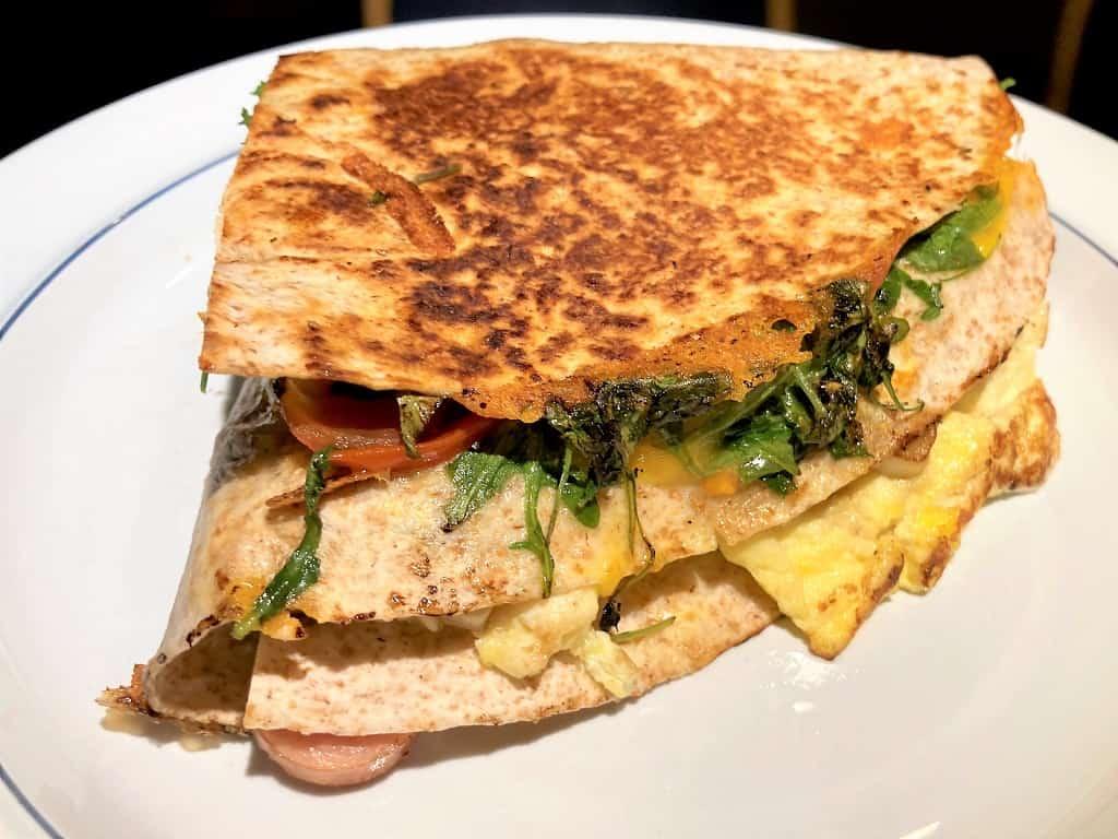 Tortilla trend sandwich