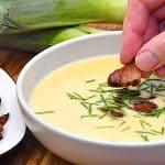 billederesultat for vichyssoise suppe