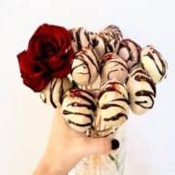 Popcakes med chokoladeovertræk