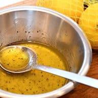 citron olivenolie dressing