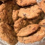 Cookies med valnødder