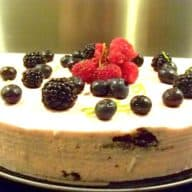 jordbærmousse kage