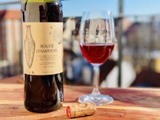Umiddelbart er det ikke til at se forskel på naturvin og andre slags vin. Men der er en verden til forskel på både smag og produktionsmetode. Foto: Charlotte Mithril