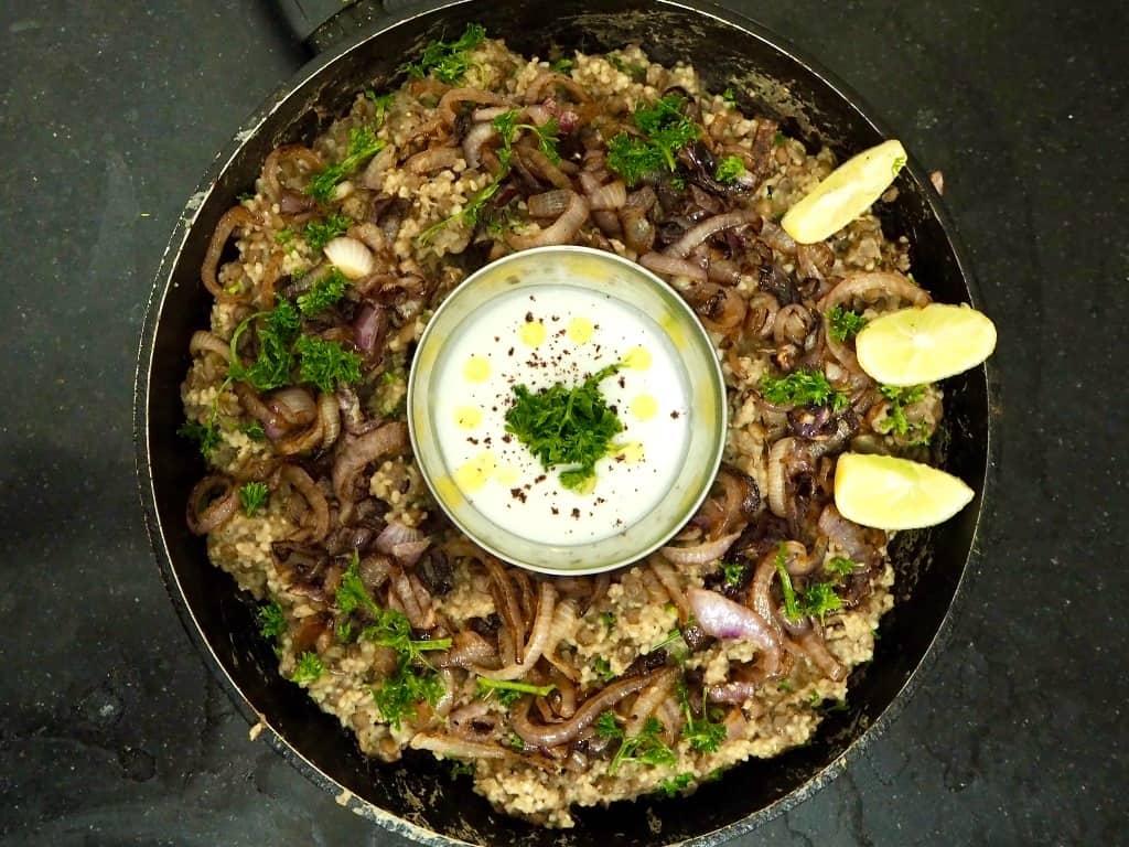 Billig vegetarret fra Mellemøsten