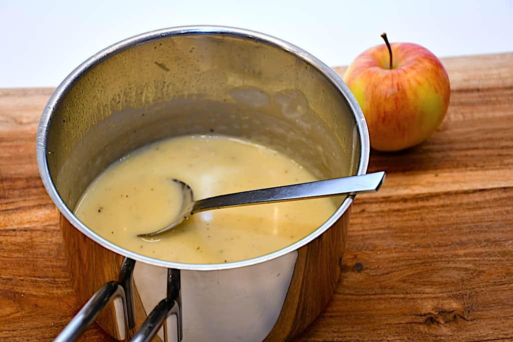 æblesauce sovs med æble