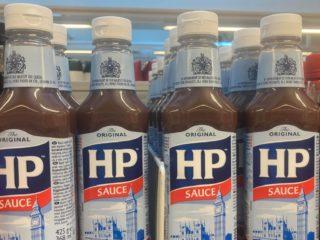 HP sauce flasker