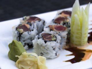 Wasabi med sushi