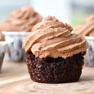 black magic muffins med chokocreme