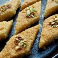 Basbousa - arabisk kage