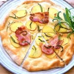 Pizza Bianco med bacon