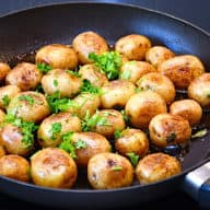 smørristede kartofler