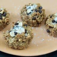 Glutenfri snickersmuffins