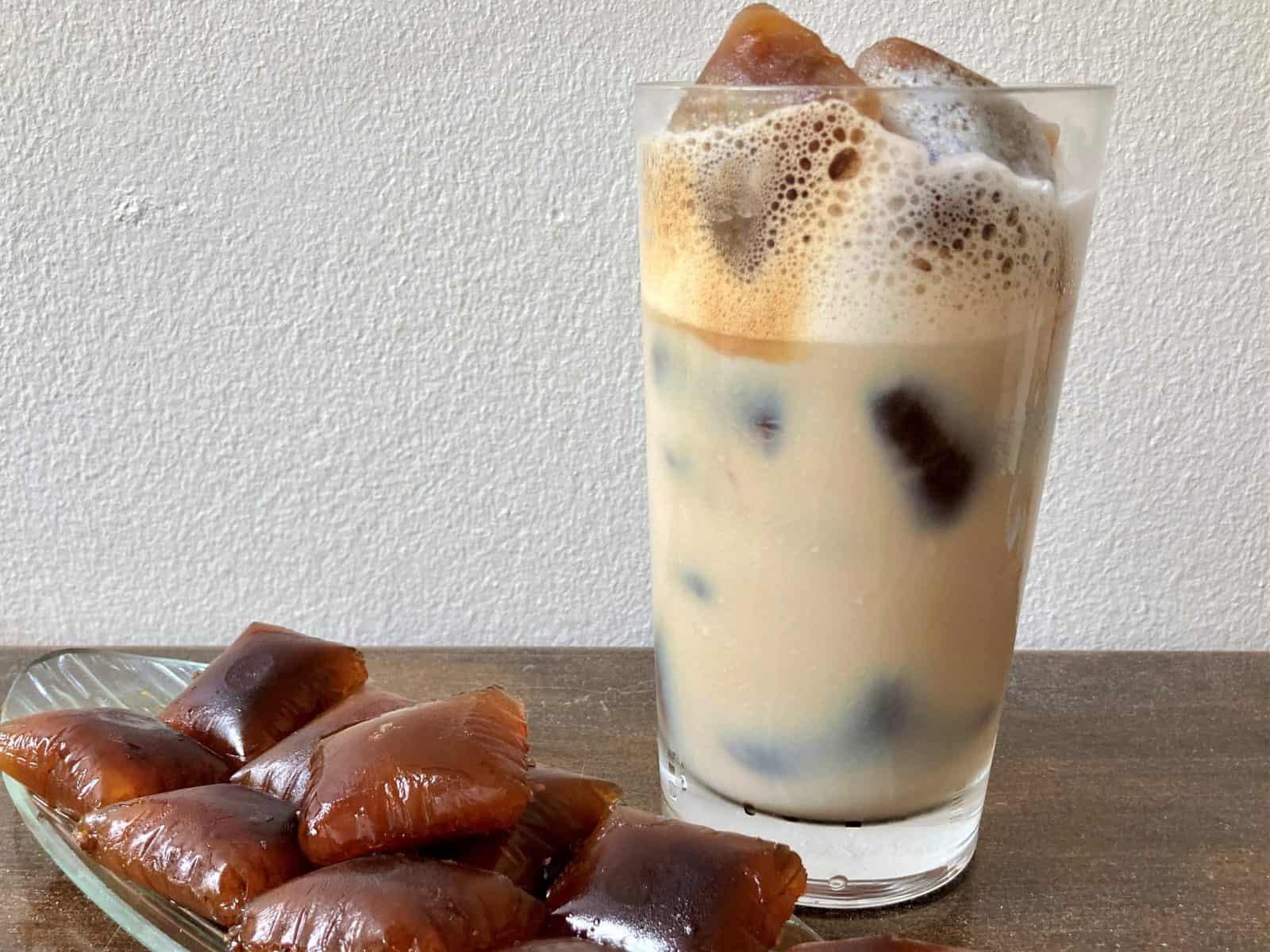 Bedste tip til iskaffe: Isterninger m kaffe