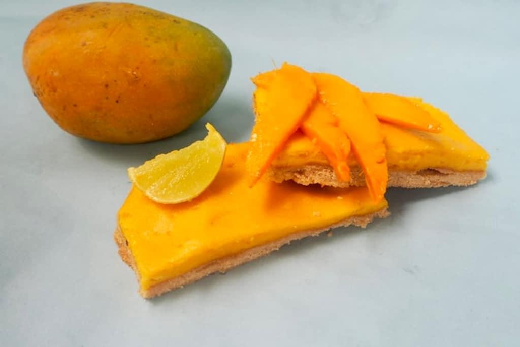 Shortbread med mango