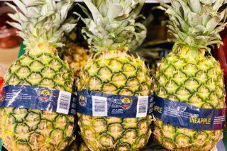 Tjek om en ananas er moden