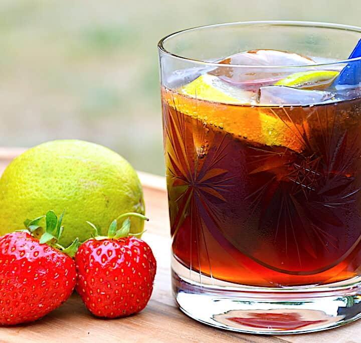 berry coke drink