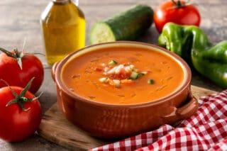 gazpacho spansk grøntsagssuppe