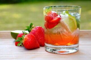 jordbær moscow mule drink
