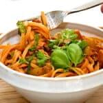 pasta med koteletter