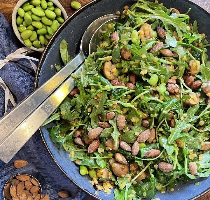 Salat med røde linser