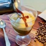 Affogato - italiensk kaffedessert