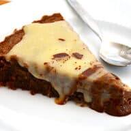 chokolade mazarinkage med hvid chokolade ganache