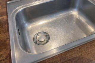 Køkkenvask - rengøring af køkkenvask