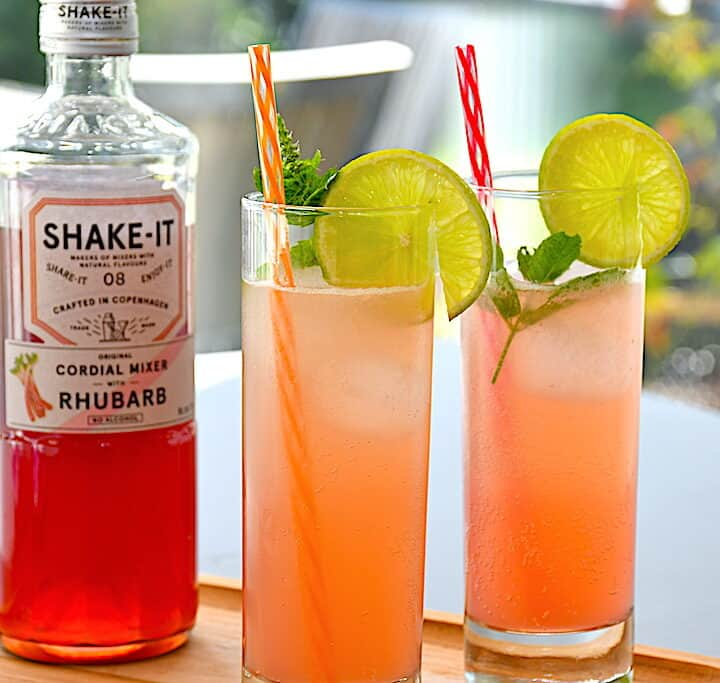 rabarber Gin Hass drink