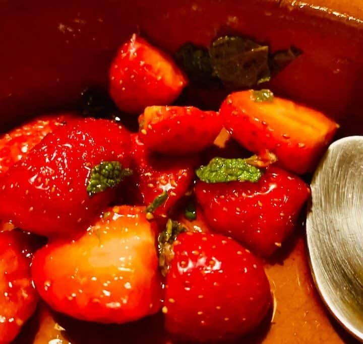 Rommarinerede jordbær