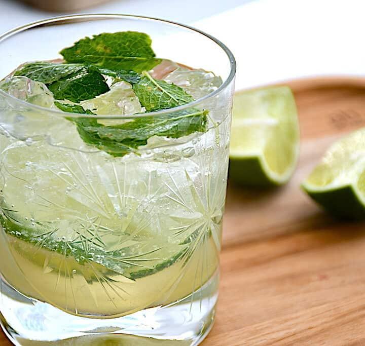virgin mojito alkoholfri drink