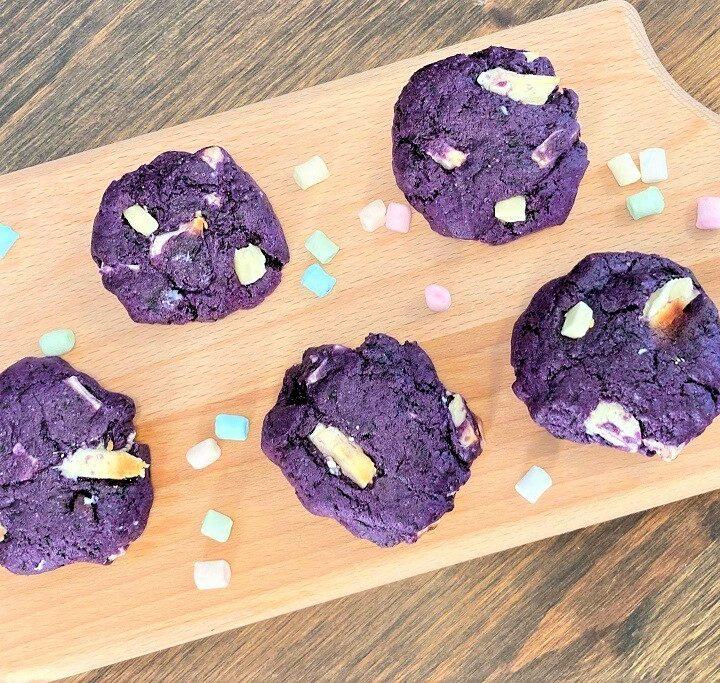 Blåbærcookies