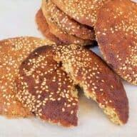 Cookies med tahin