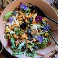 Flower power-salat