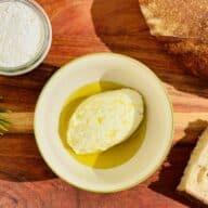 Friskost med olivenolie