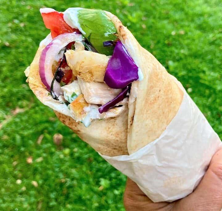 Kylling shawarma