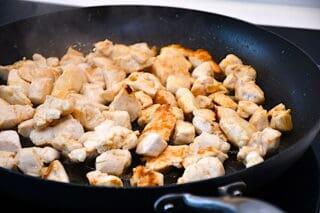 kyllingeinderfilet steges på panden