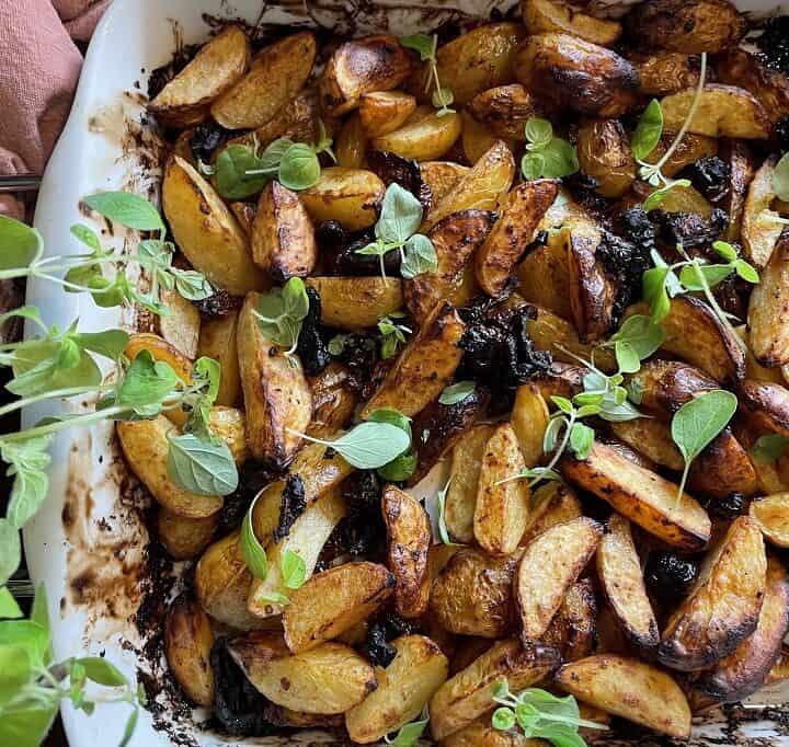 Ovnbagte kartoffelbåde