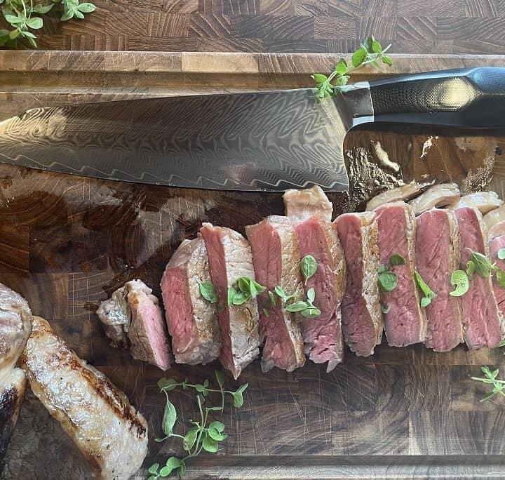 Whiskymarineret steaks